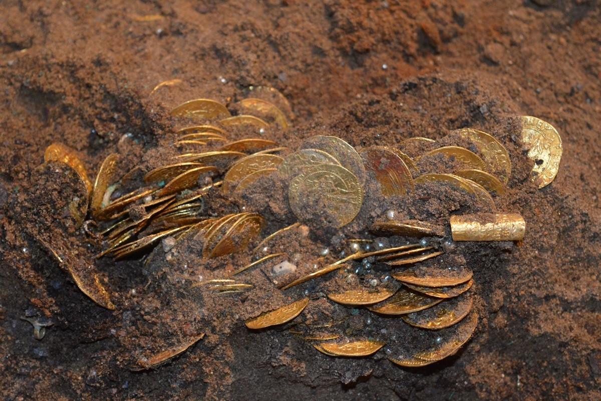 skarb bydgoski, monety - janusz flemming (1)