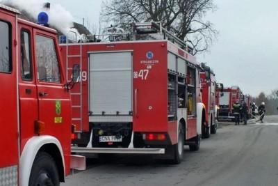straż pożarna_sadki_pożar - Zbigniew Kubisz
