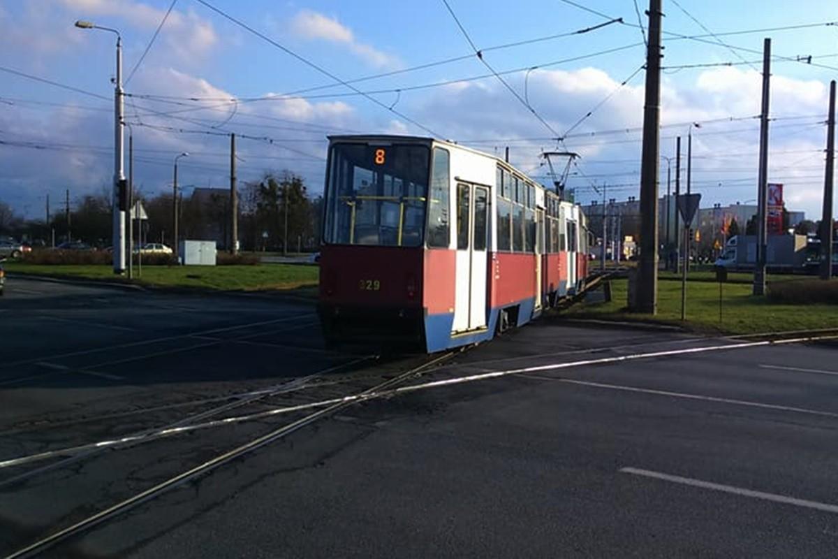 tramwaj 8_wykolejenie_Andrzej Kuczyński
