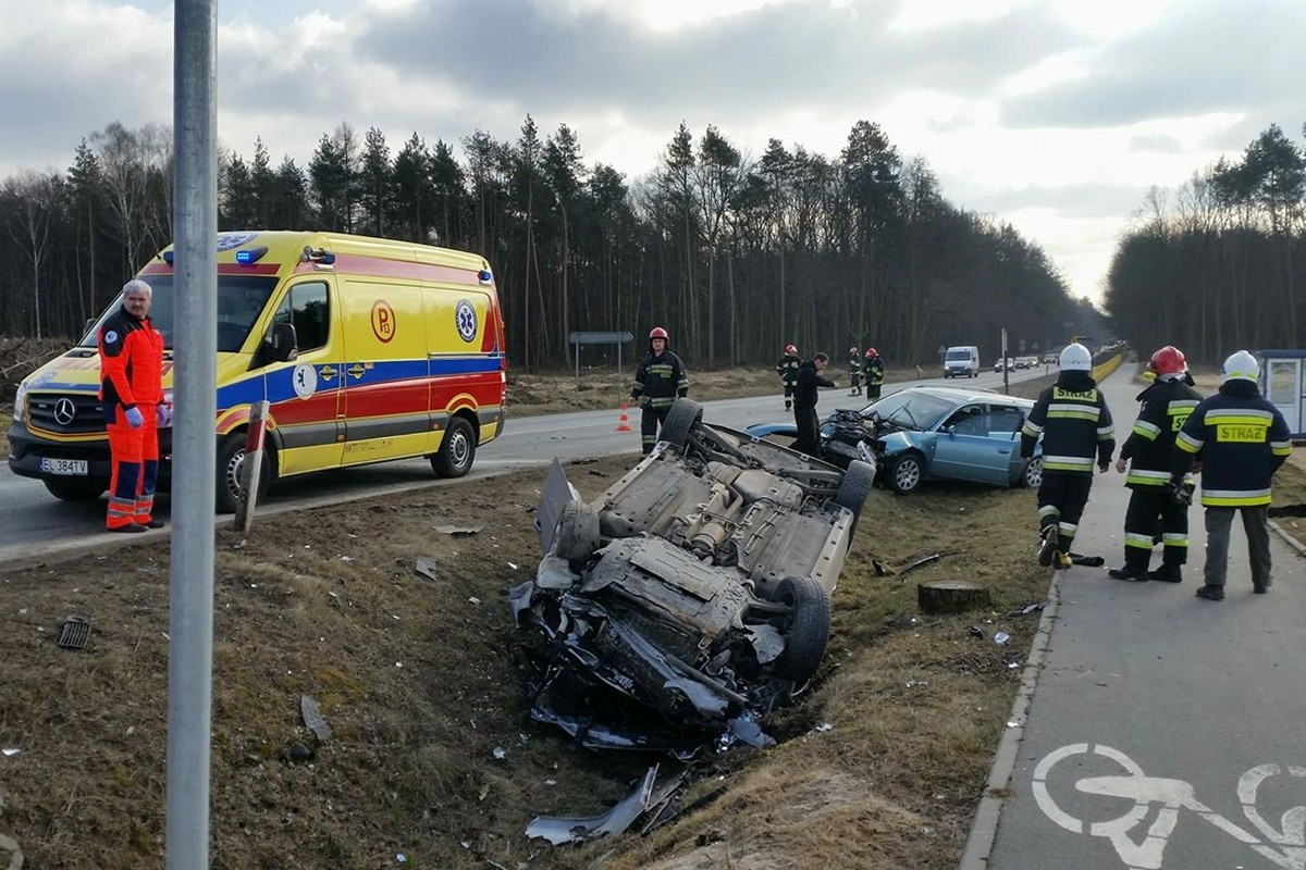 wypadek, tryszczyn, droga krajowa nr 25 - krystian andruszczenko