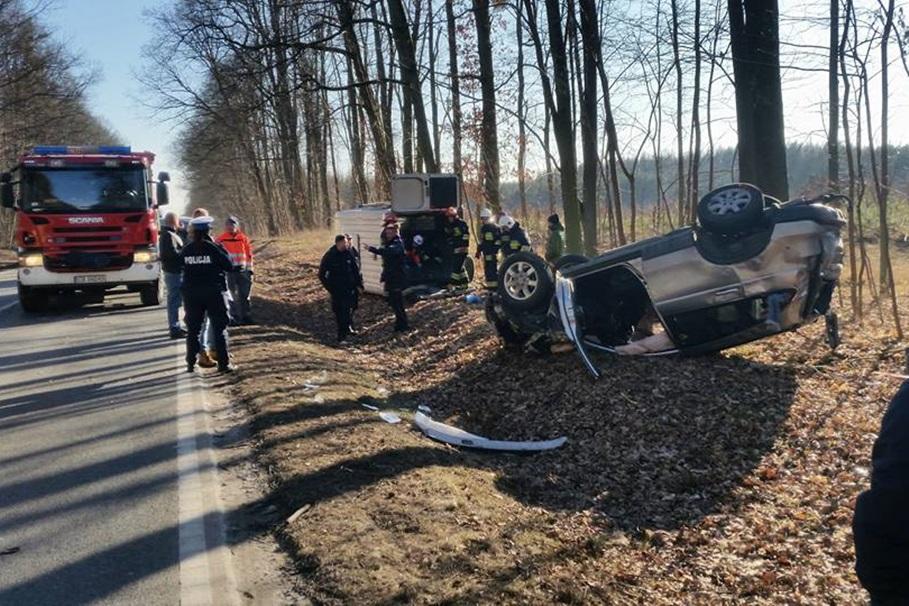 wypadek, tryszczyn, droga krajowa nr 25 - krystian andruszczenko 2