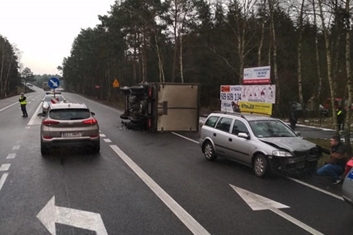 wypadek_dk10 przy wjeździe do BPPT_Jakub Soboczyński