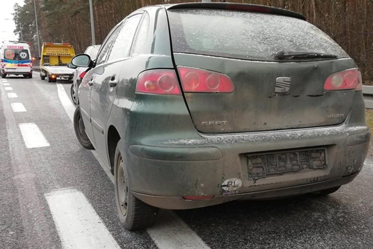wypadek_obwodnica Bydgoszczy_OSP Brzoza