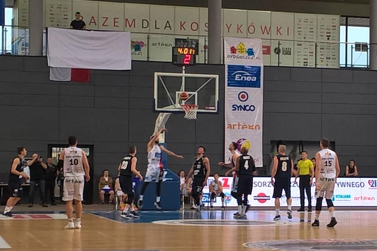 Enea Astoria Bydgoszcz - R8Basket AZS Politechnika Kraków_I liga koszykarzy-SF