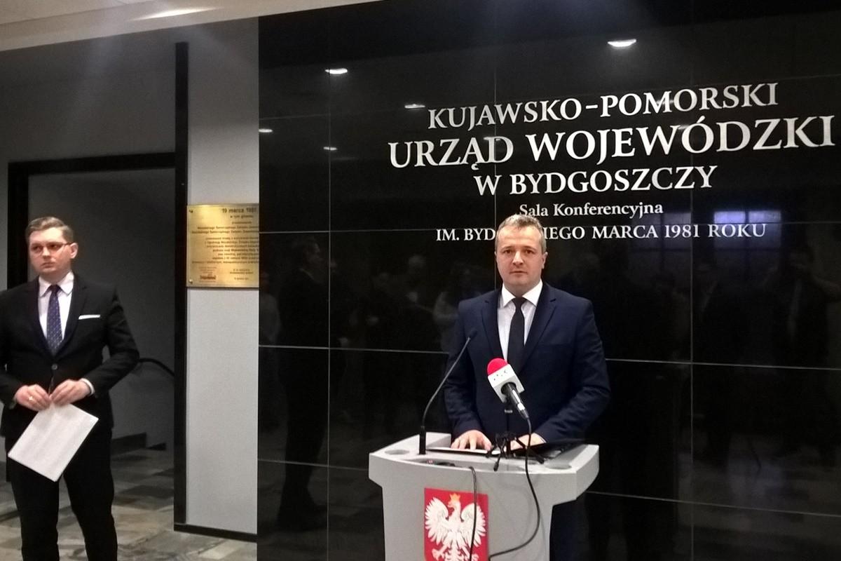 Mikołaj Bogdanowicz, Adrian Mól - konferencja prasowa K-PUW_SF