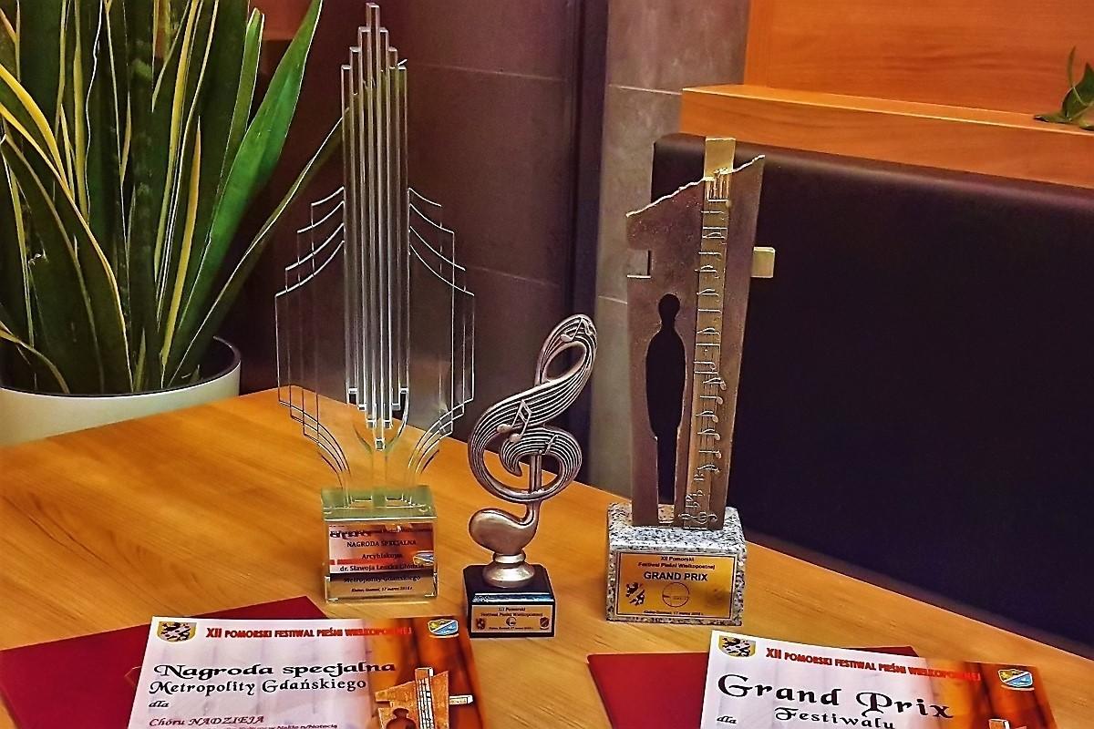 Nagroda dla chóru Nadzieja
