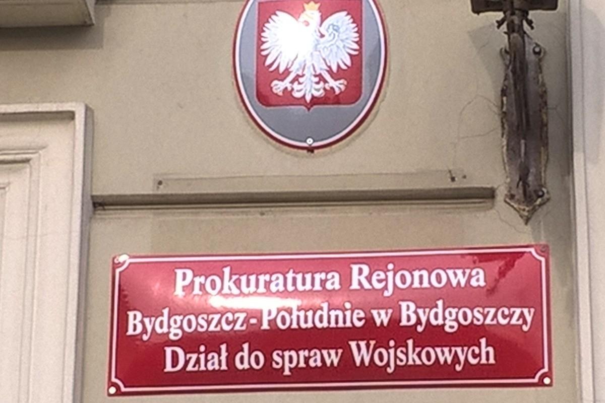 Prokuratura Okręgowa Bydgoszcz-Południe_tabliczka otwarcia pionu wojskowego_SF
