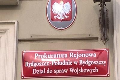 Szyld_ Prokuratura Okręgowa Bydgoszcz-Południe_tabliczka otwarcia pionu wojskowego_SF