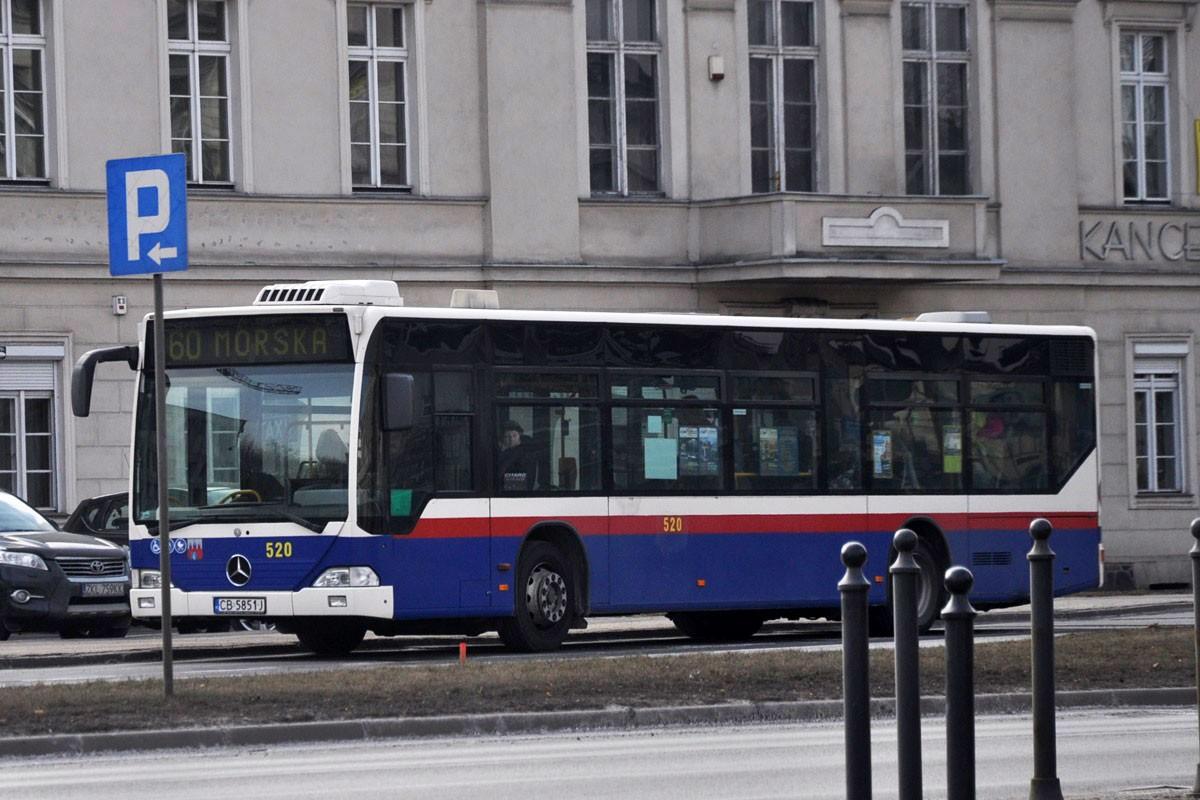 linia autobusowa nr 60 Bydgoszcz Nowy Rynek