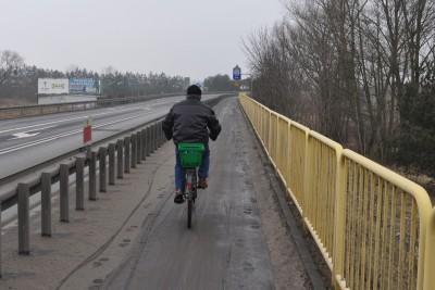 droga rowerowa, droga krajowa nr 80 - st