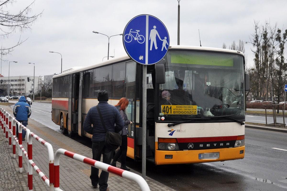 FR Bus linia 401 Bydgoszcz
