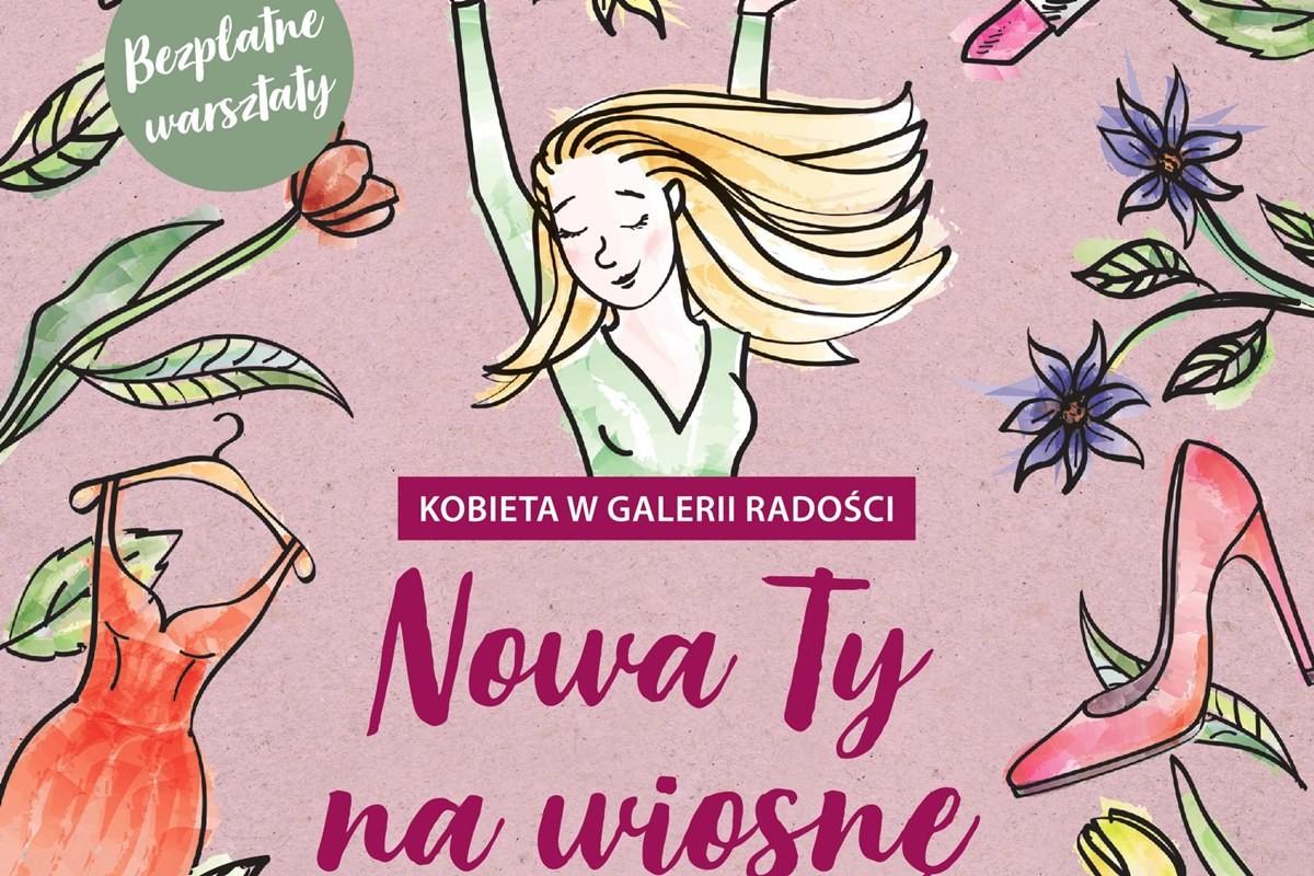kobieta w galerii radości - mat. prasowe