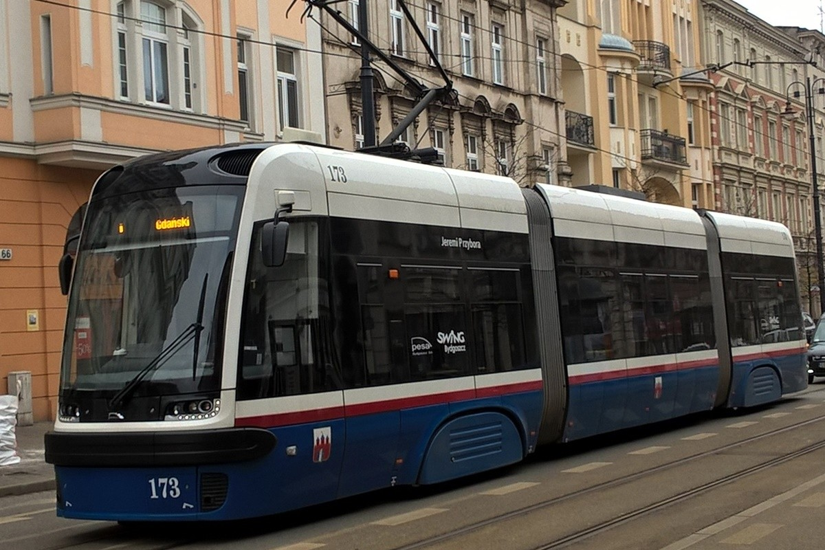 tramwaj_linia nr 1 - Las Gdański_SF