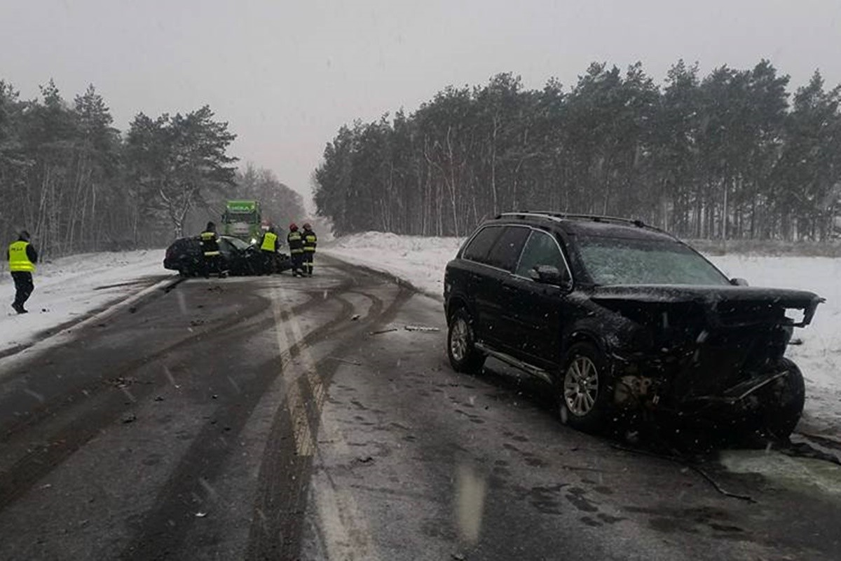 wypadek dk10_pawłówek - krystian andruszczenko