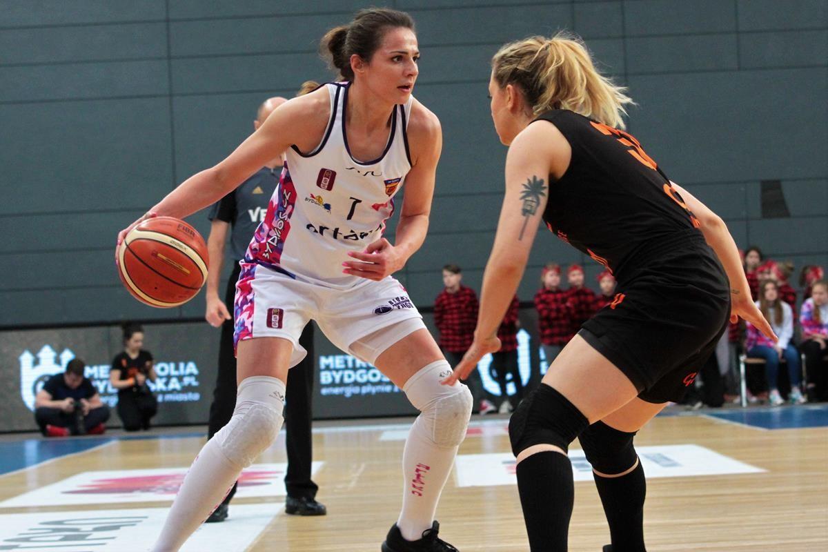Artego Bydgoszcz Agnieszka Szott