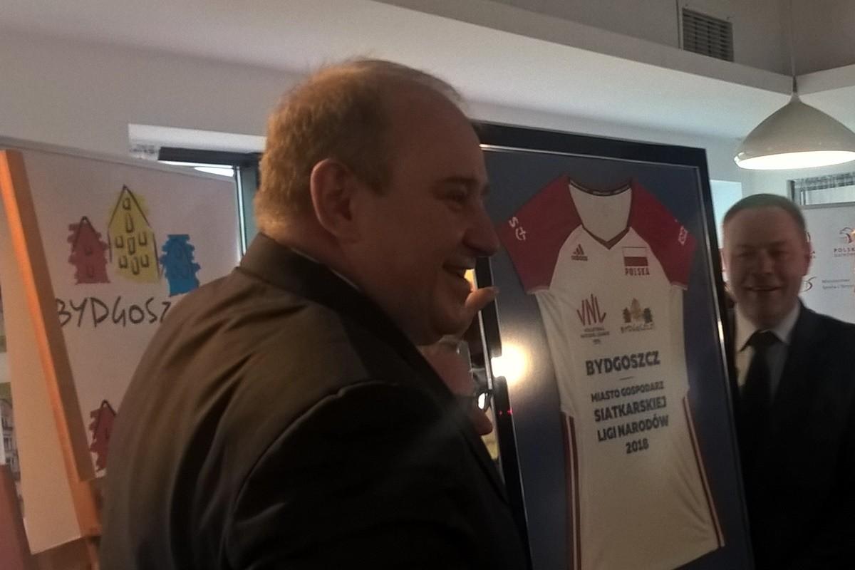 Jacek Kasprzyk Rafał Bruski konferencja Przystań Bydgoszcz
