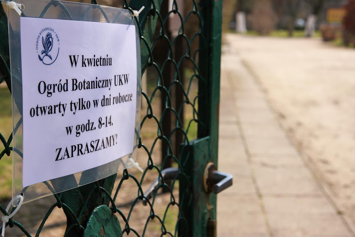 ogród botaniczny UKW Bydgoszcz