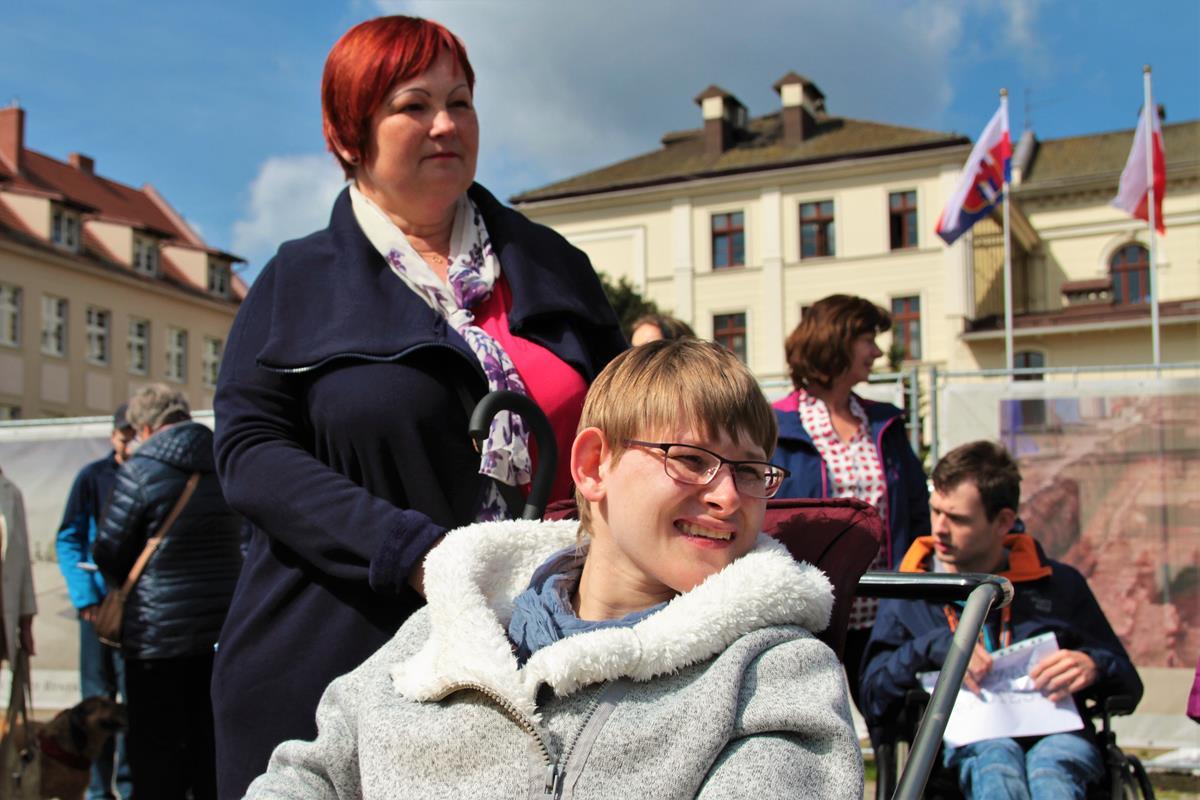 Protest rodziców dzieci niepełnosprawnych Bydgoszcz