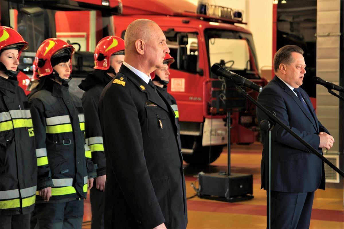 Strażacy. Wiceszef MSWiA. Nowy sprzęt_SG (18)