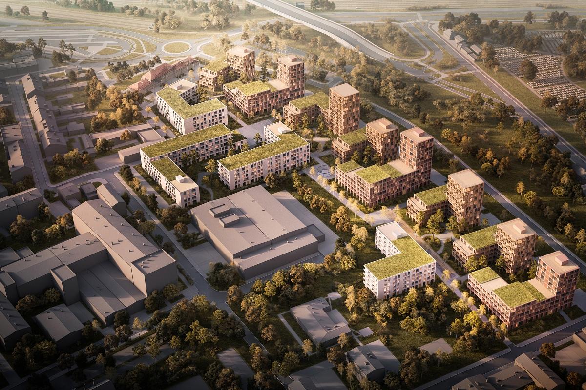 osiedle Bocianowe Bydgoszcz Moderator Inwestycje