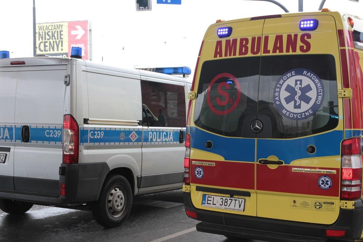 wypadek ulica Jagiellońska Bydgoszcz