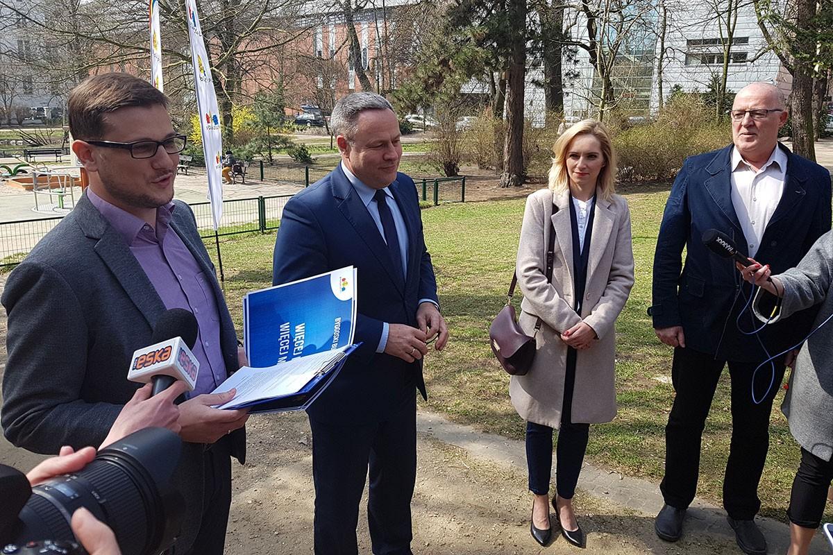 Bydgoski Budżet Obywatelski Michał Sztybel Rafał Bruski Patrycja Olszewska Jan Kwiatoń