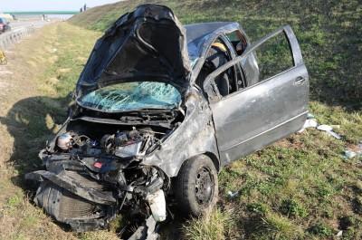 wypadek autostrada A1 Kujawsko-Pomorskie