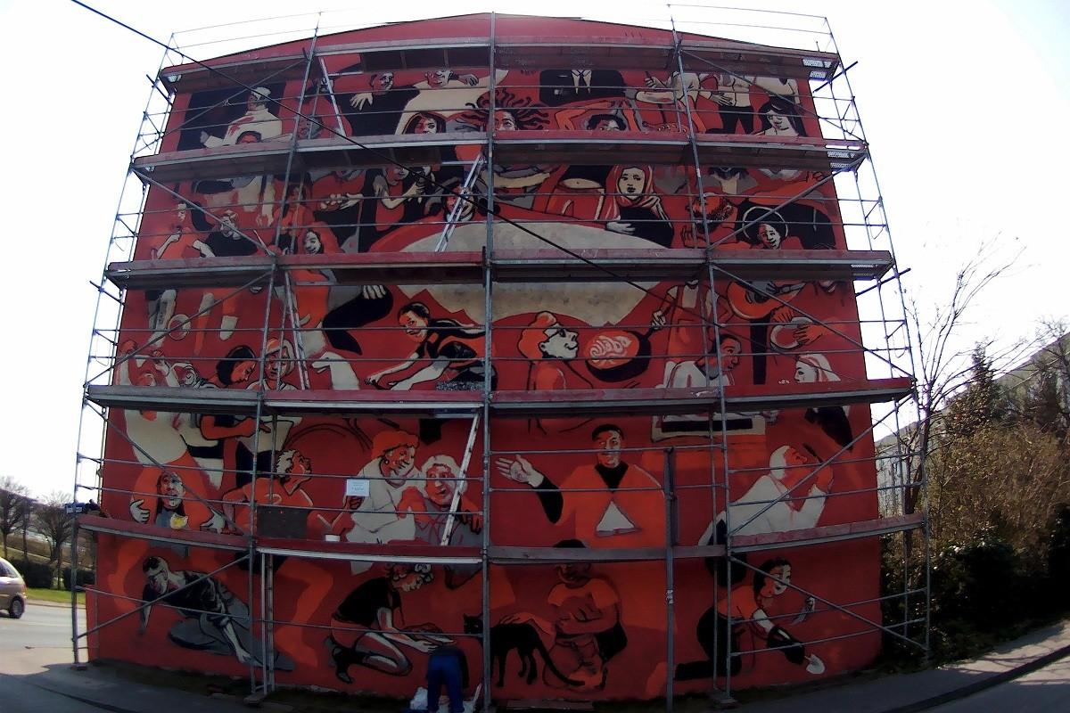 mural bydgoszcz