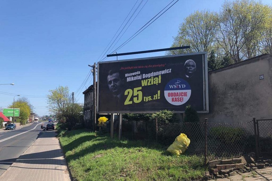 billboard Mikołaj Bogdanowicz