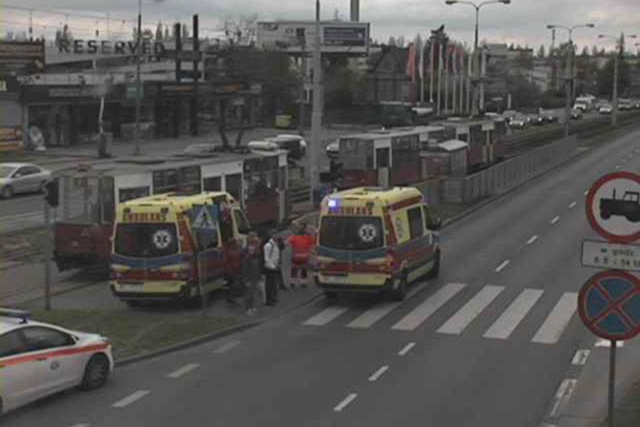 wypadek Fordońska Bydgoszcz