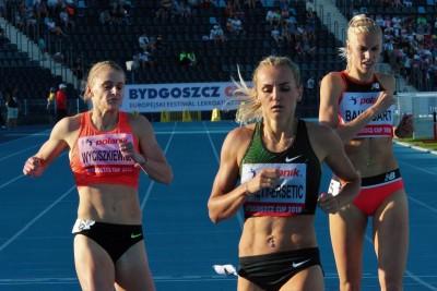 Patrycja Wyciszkiewicz, Justyna Święty-Ersetic, Iga Baumgart-Witan_ Bydgoszcz Cup 2018_ Lekka atletyka_ SG