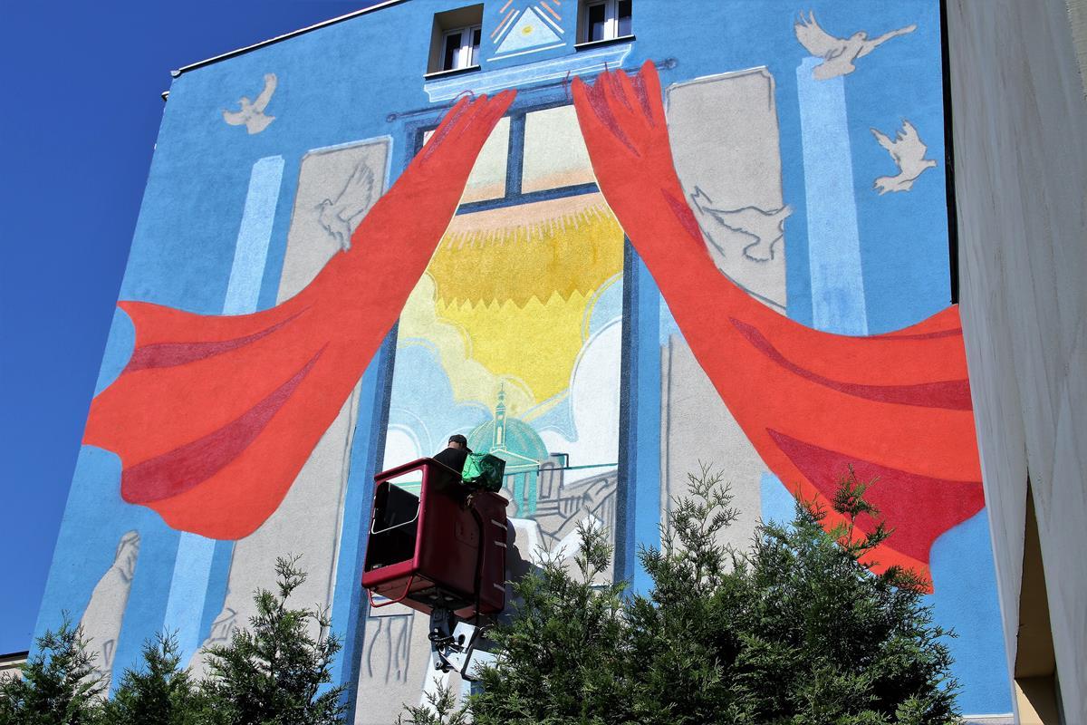 mural bydgoszcz nakielska