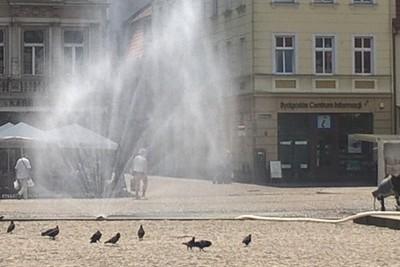 kurtyna wodna_ Stary Rynek Bydgoszcz_ SF