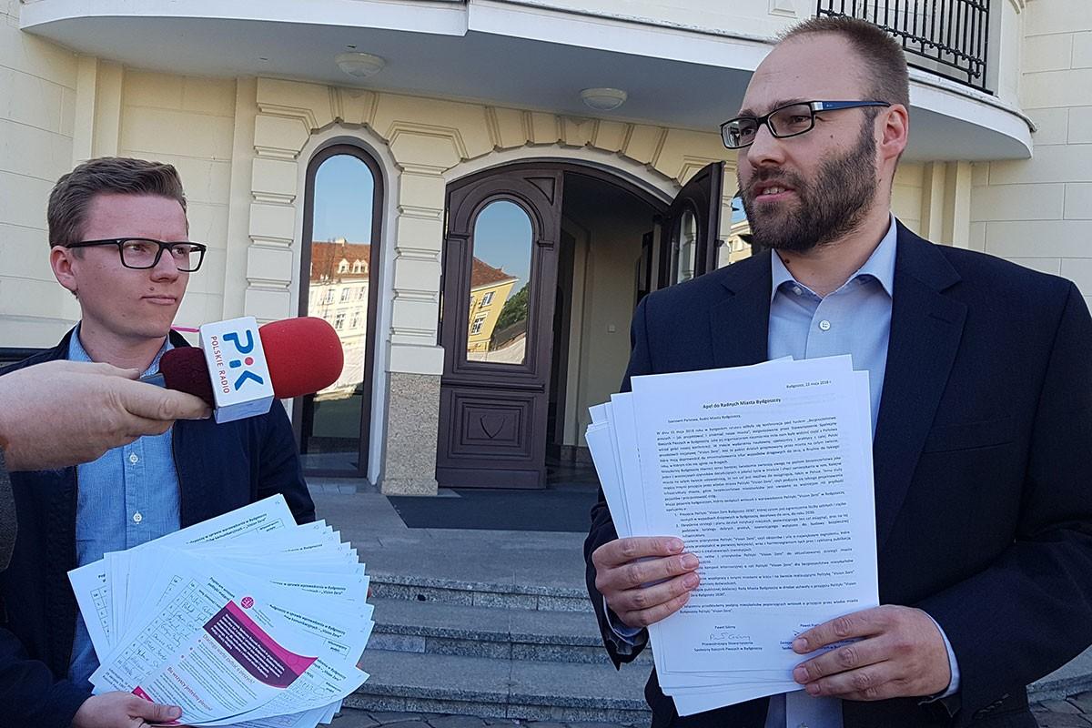 Paweł PIątkowski Paweł Górny Społeczny Rzecznik PIeszych