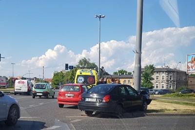 wypadek plac poznański Bydgoszcz