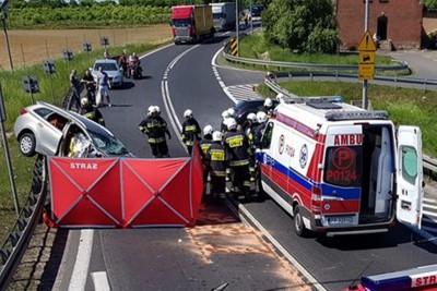 wypadek - wielkopolska_kosztowo - OSP Wyrzysk 1