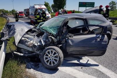 wypadek - wielkopolska_kosztowo - OSP Wyrzysk