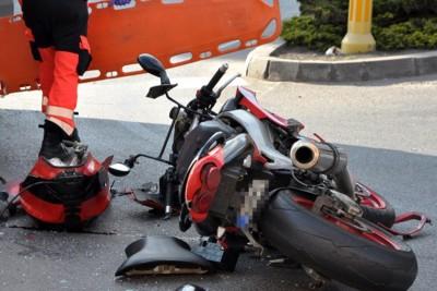 wypadek_motocyklista_zamość - Maciej Rejment