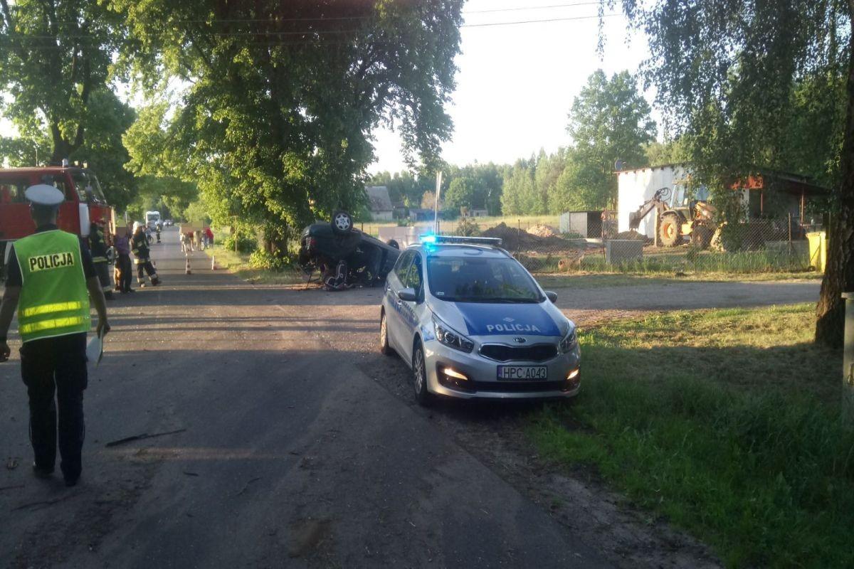 wypadek_wielki wełcz k. grudziądza_kmp grudziądz `1