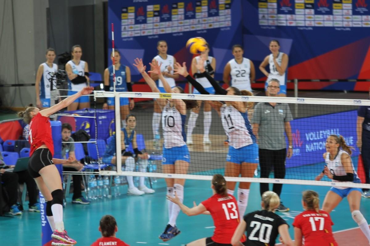Belgia-Argentyna_ FIVB Liga Narodów Siatkarek Bydgoszcz - Celine Van Gestel_ SF