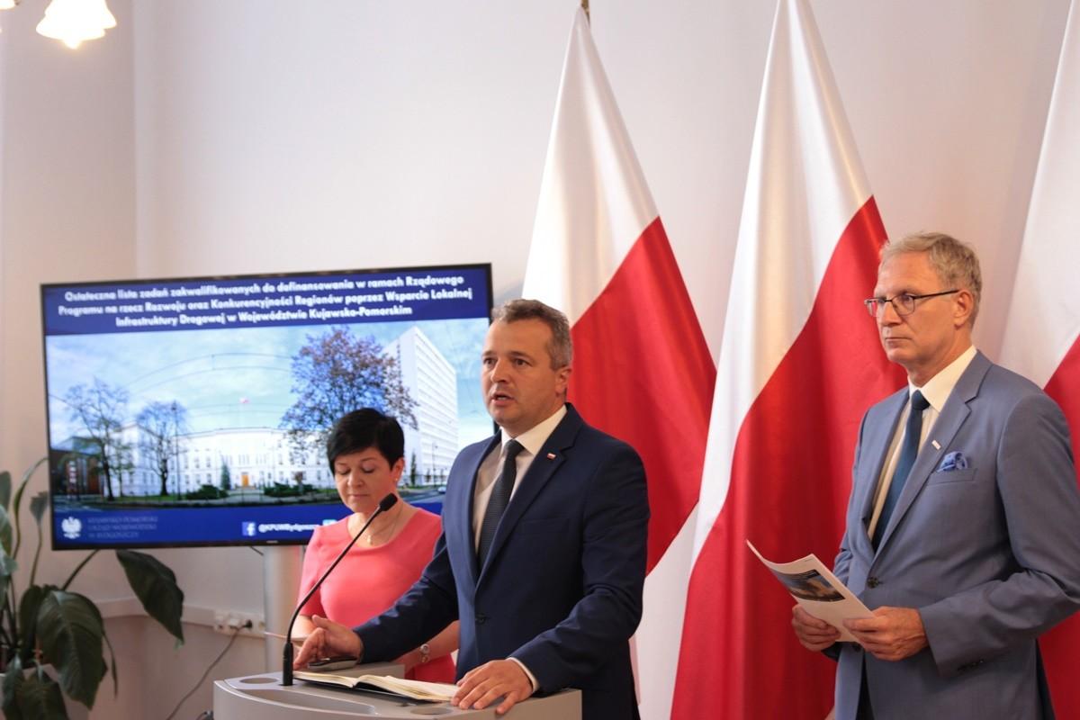 Joanna Borowiak, Mikołaj Bogdanowicz (wojewoda), Tomasz Latos - konferencja w K-P UW_ SF