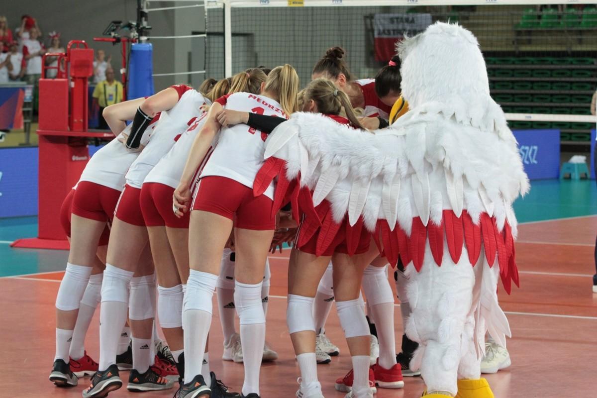 Polska-Argentyna_ FIVB Liga Narodów Siatkarek_Bydgoszcz_kadra siatkarek_ SF