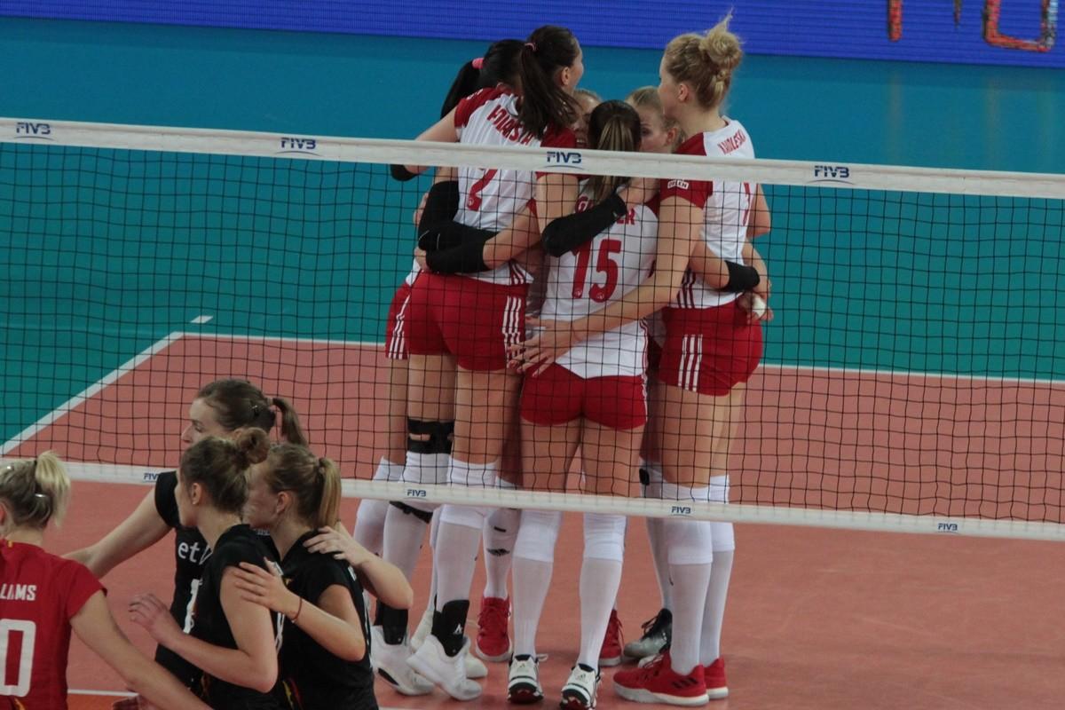 Polska-Belgia_ FIVB Liga Narodów Siatkarek Bydgoszcz_ rep. Polski_ SF