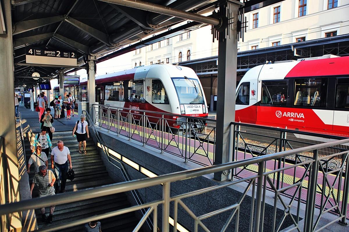 pociąg _ Arriva (Bydgoszcz-Hel)