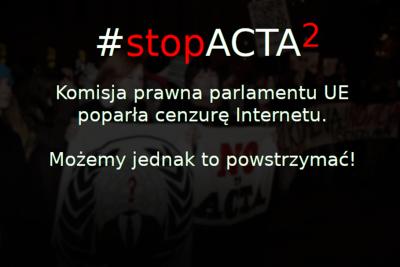 stop acta 2 - mat. prasowe