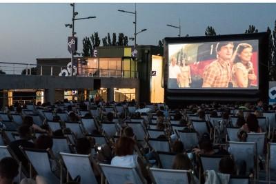zielone arkady, kino letnie - za
