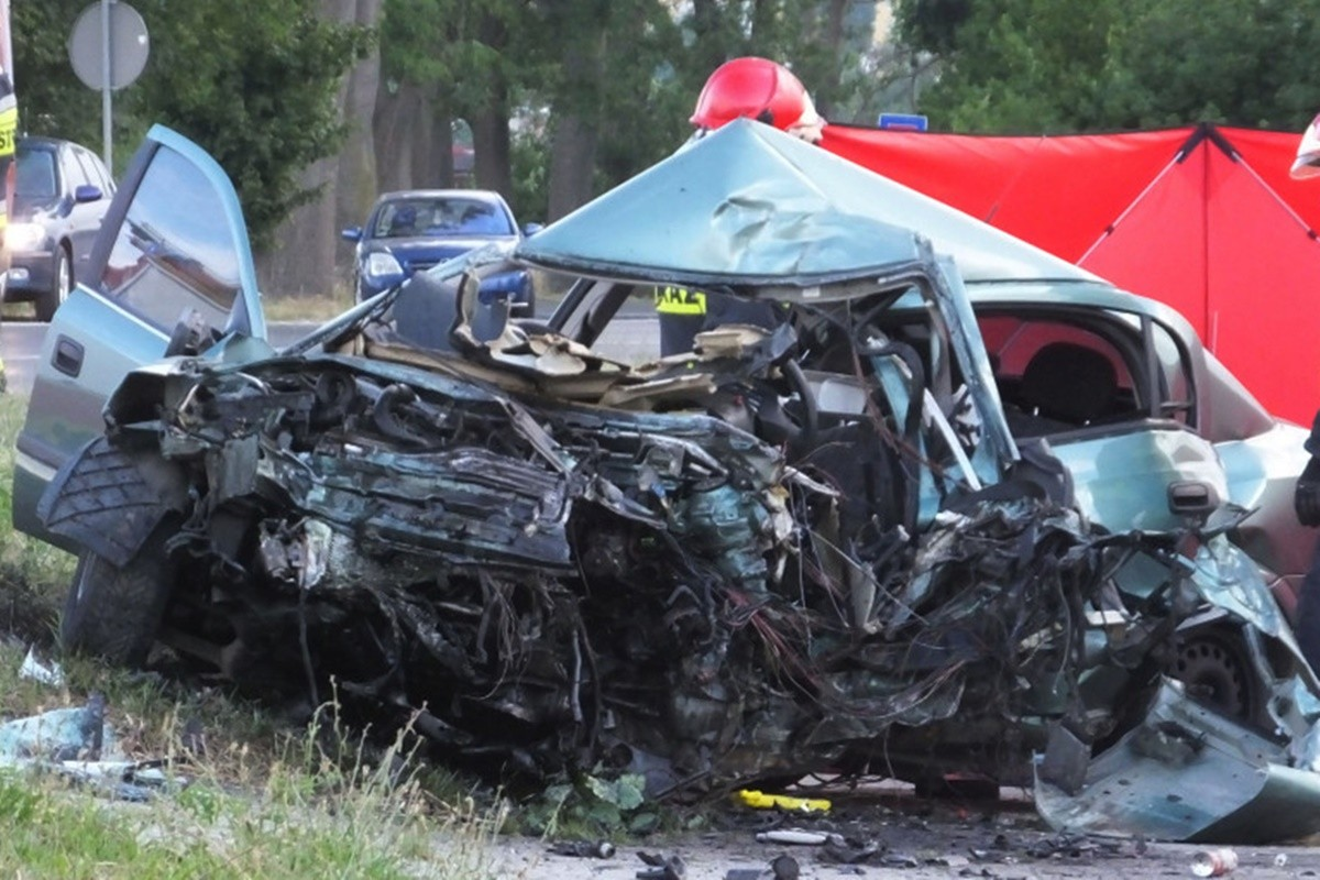 śmiertelny wypadek_ dw241 nakło_ Zbigniew Kubisz-1