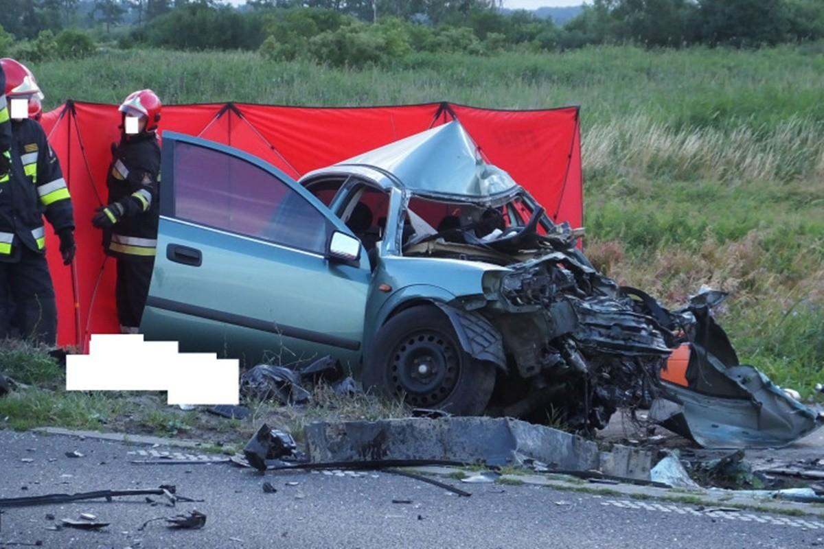 śmiertelny wypadek_ dw241 nakło_ Zbigniew Kubisz
