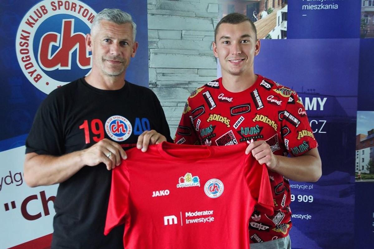 Tomasz Prejs_ Chemik Moderator Bydgoszcz_ transfer - mat. klubowe