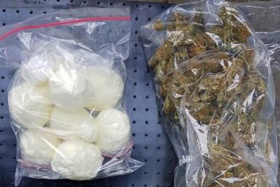 marihuana, amfetamina_ zabezpieczone narkotyki - KWP Bydgoszcz